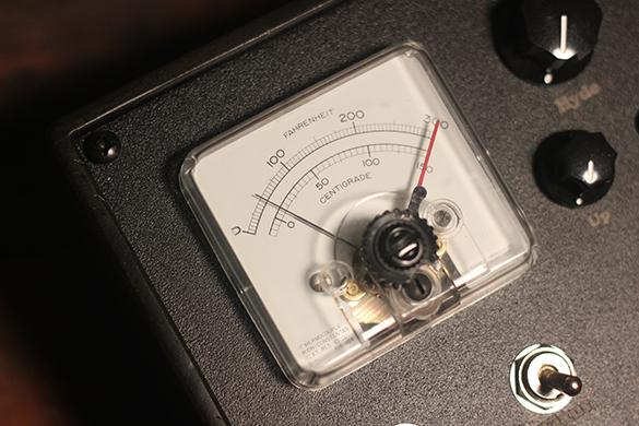 Unusual Fahrenheit / Centigrade Meter