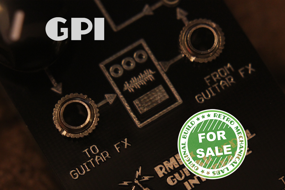 GPI (Guitar Pedal Interface)